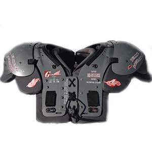 Used Football Equipment - Shoulderpads